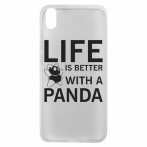 Etui na Xiaomi Redmi 7A Life is better with a panda