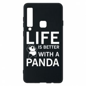 Etui na Samsung A9 2018 Life is better with a panda