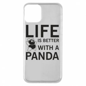 Etui na iPhone 11 Life is better with a panda