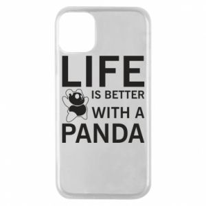 Etui na iPhone 11 Pro Life is better with a panda