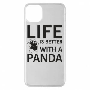 Etui na iPhone 11 Pro Max Life is better with a panda