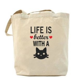 Bag Life is better with a cat