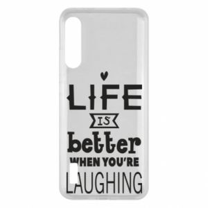Xiaomi Mi A3 Case Life is butter when you're laughing