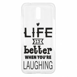 Nokia 2.3 Case Life is butter when you're laughing
