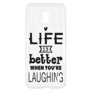Nokia 2.2 Case Life is butter when you're laughing