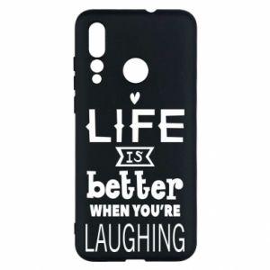 Huawei Nova 4 Case Life is butter when you're laughing