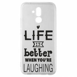 Huawei Mate 20Lite Case Life is butter when you're laughing