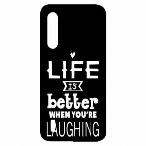 Xiaomi Mi9 Lite Case Life is butter when you're laughing