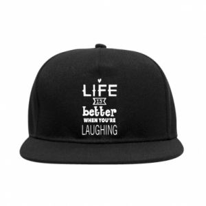 SnapBack Life is butter when you're laughing