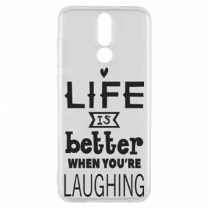 Huawei Mate 10 Lite Case Life is butter when you're laughing