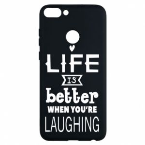 Phone case for Huawei P Smart Life is butter when you're laughing