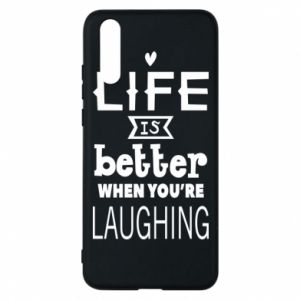Huawei P20 Case Life is butter when you're laughing