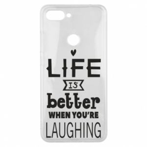 Etui na Xiaomi Mi8 Lite Life is butter when you're laughing