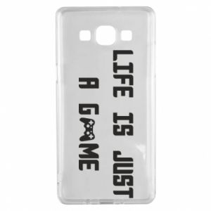 Samsung A5 2015 Case Life is just a game