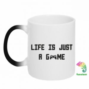 Magic mugs Life is just a game