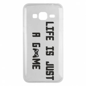 Phone case for Samsung J3 2016 Life is just a game