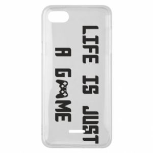 Phone case for Xiaomi Redmi 6A Life is just a game