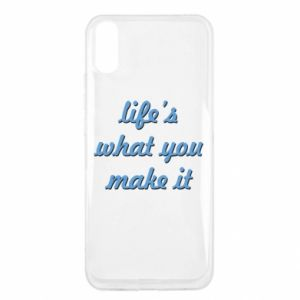 Etui na Xiaomi Redmi 9a Life's what you make it