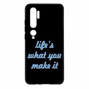 Etui na Xiaomi Mi Note 10 Life's what you make it