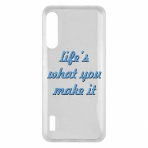 Etui na Xiaomi Mi A3 Life's what you make it
