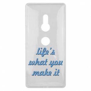 Etui na Sony Xperia XZ2 Life's what you make it