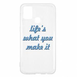 Etui na Samsung M31 Life's what you make it