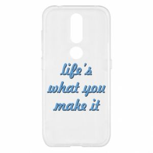 Etui na Nokia 4.2 Life's what you make it
