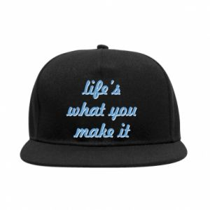 SnapBack Life's what you make it