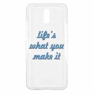 Etui na Nokia 2.3 Life's what you make it