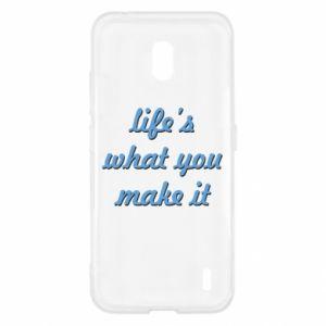 Etui na Nokia 2.2 Life's what you make it