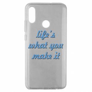 Etui na Huawei Honor 10 Lite Life's what you make it