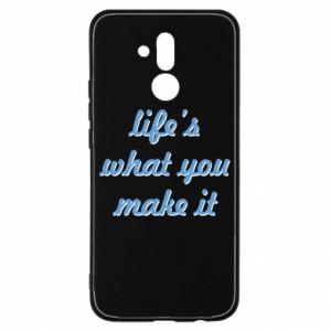 Etui na Huawei Mate 20 Lite Life's what you make it