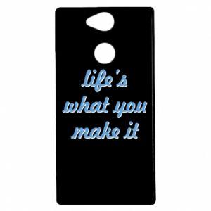 Etui na Sony Xperia XA2 Life's what you make it