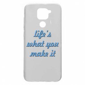 Etui na Xiaomi Redmi Note 9/Redmi 10X Life's what you make it
