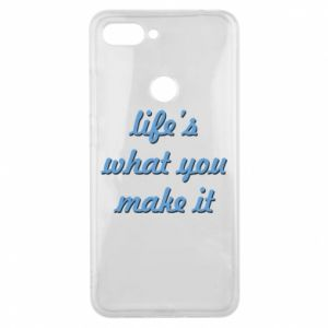 Phone case for Xiaomi Mi8 Lite Life's what you make it