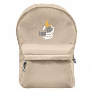 Plecak z przednią kieszenią Lighter