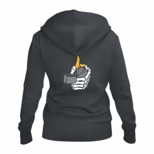 Damska bluza na zamek Lighter