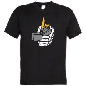Męska koszulka V-neck Lighter