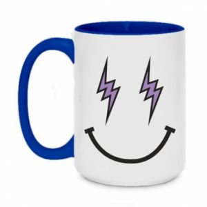 Kubek dwukolorowy 450ml Lightning smile