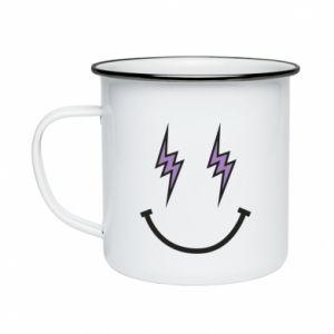 Kubek emaliowane Lightning smile