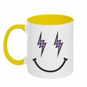 Kubek dwukolorowy Lightning smile