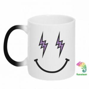 Kubek-kameleon Lightning smile