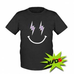 Dziecięcy T-shirt Lightning smile