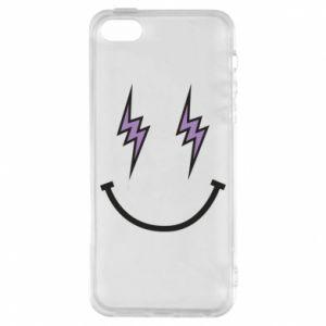 Etui na iPhone 5/5S/SE Lightning smile