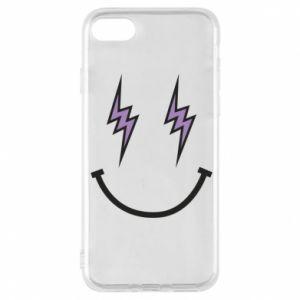 Etui na iPhone 8 Lightning smile