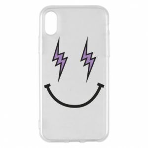 Etui na iPhone X/Xs Lightning smile