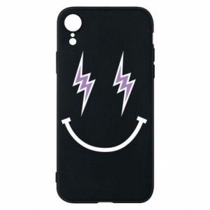 Etui na iPhone XR Lightning smile