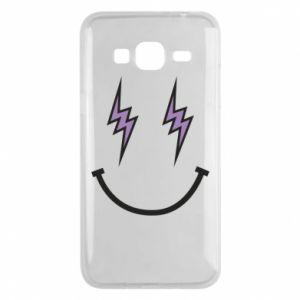 Etui na Samsung J3 2016 Lightning smile