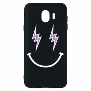 Etui na Samsung J4 Lightning smile