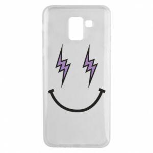 Etui na Samsung J6 Lightning smile